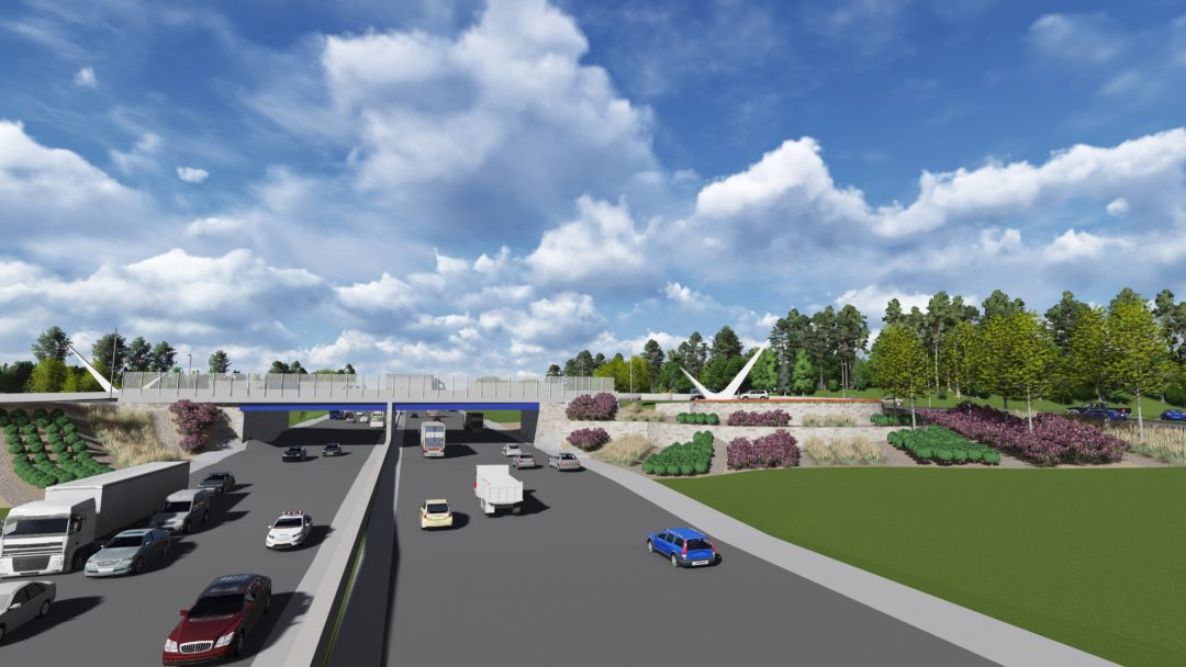 I-285 @ CAMP CREEK PARKWAY DIVERGING DIAMOND INTERCHANGE
