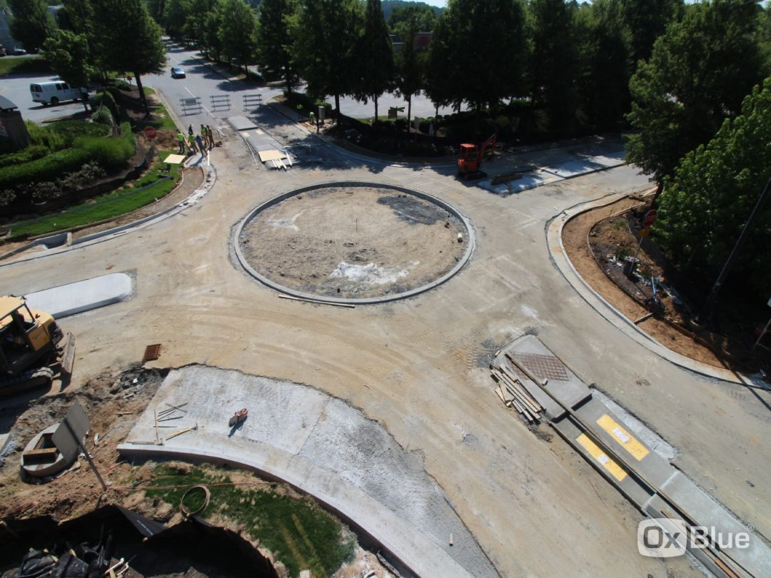 CAMP CREEK MARKETPLACE MINI ROUNDABOUT