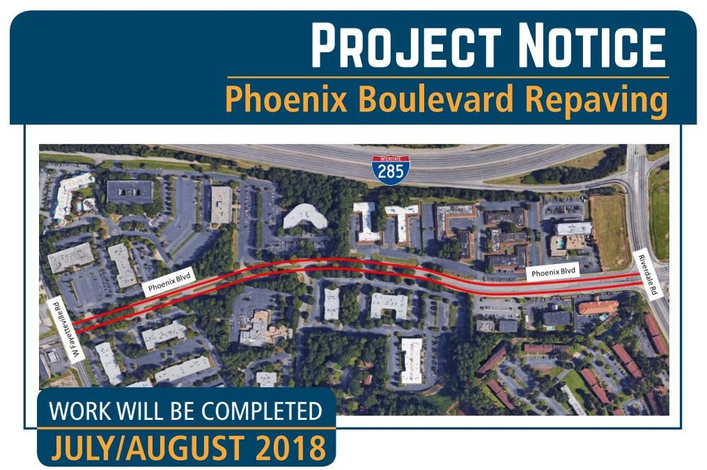 Paving Project For Phoenix Boulevard