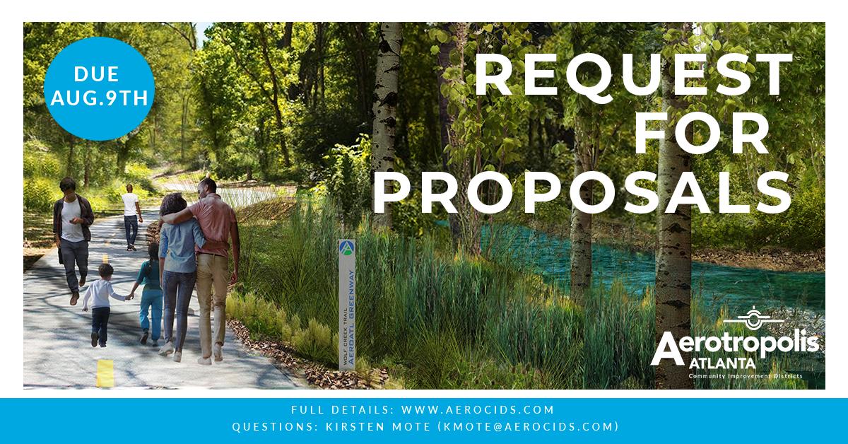 AERO ATL Greenway Model Mile Concept Development Request for
